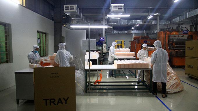 Thăm phòng sạch sản xuất đĩa nhựa Sinhirose
